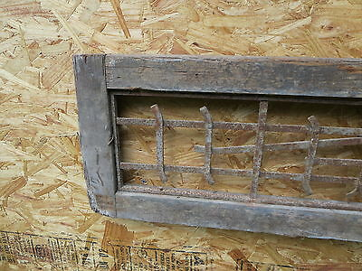 Antique Victorian Iron Gate Window Garden Fence Architectural Salvage Guard H 2