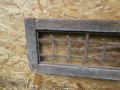 Antique Victorian Iron Gate Window Garden Fence Architectural Salvage Guard H