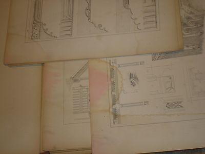 Gothische Holz-Architektur 1870 German Gothic Architecture Folio Huge 48 Plates 5