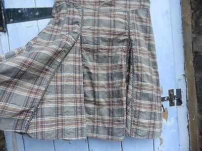 """Next Girls Skirt Age 14 22"""" Long 30"""" Waist Beautiful Panelled Skirt lots detail 6"""