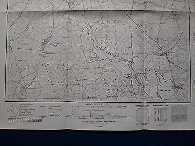 Landkarte Meßtischblatt 3961 Unruhstadt / Kargowa, Kopnitz, Neumark, 1945