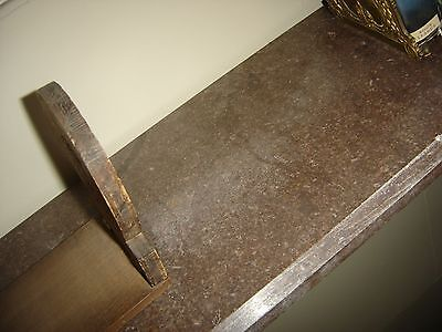 Antique Georgian Marble Shelf. Beveled Edges on all 4 sides. 7737 3