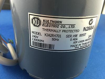 Kulthorn  Condenser Fan Motor 20Watt 0.40Amp 1450Rpm Kja2R4701 Hub Shaft 2