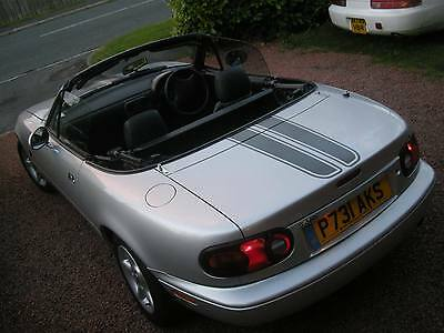 MAZDA MX5 BONNET & boot stripes decals MX5 Roadster Miata will also fit  other