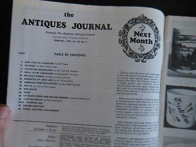 Antiques Journal Jenny Lind Celadon Glaze Pottery Ceramic Collecting Bookplates