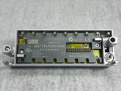 Siemens 6ES7194-4CB00-0AA0 Simatic S7 Connecting Module NEW
