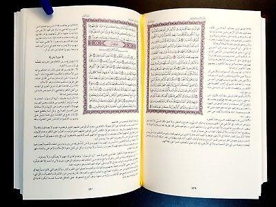 THE HOLY QURAN  KORAN & AL-TAFSIR Al-MOYASSER. KING FAHAD P IN MADINAH.Shape Nu1 6