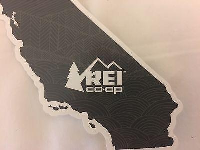 California Coop Decal NEW REI Co-op California State Sticker
