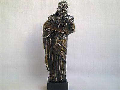 Sculpture Dionysus/Bacchus god of wine Greek Mythology statue figure brass 8