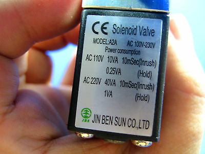 CO2 Pression Régulateur System- magnétique Solenoid Bubble tank contre 4