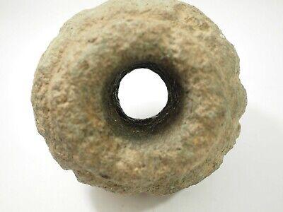 Pre-Columbian Chavin Stone Mace Head Peru 1500-400BC SAA-3 5