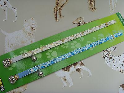 Cat Kitten Collars~Set Of 2~NEW 2