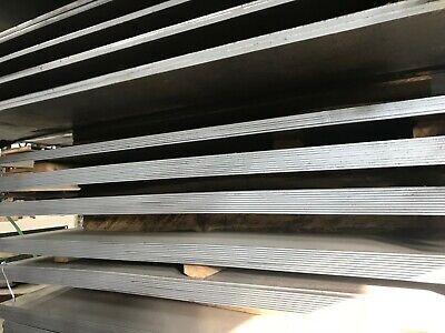 """3/8"""" .375"""" Hot Rolled Steel Sheet Plate 5""""X 6"""" Flat Bar A36 5"""