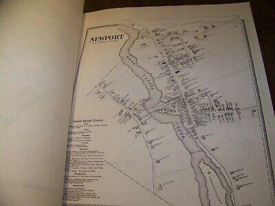 1868 Herkimer County Ny Atlas Map Fw Beers Little Falls Warren Ohio 1977 Reprint 6