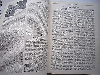 """""""Wild und Hund""""  23. Jahrgang Januar - Dezember 1917, Hege,Pirsch 3"""