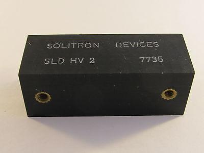 SLDHV2 SOLITRON Hochspannungs Power Diode 2KV 50A