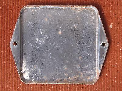 vintage european enamel porcelain number street house door gate sign # 48 2