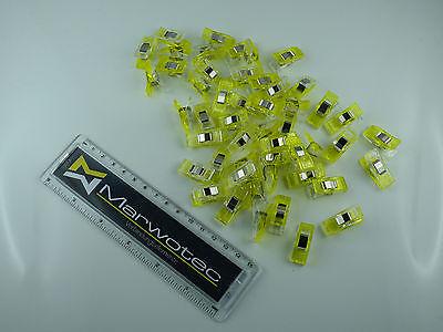 10 - 200 Stück Wonder Clips Nähklammern Stoffklammern Nähzubehör Wonderclips 5