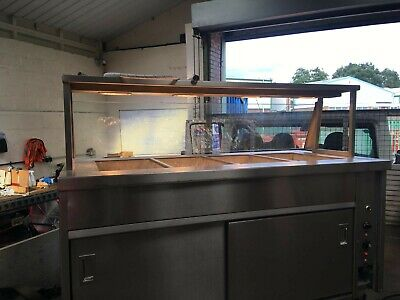 Newco Commercial Hot Cupboard Heated Carvery Trolley . 8