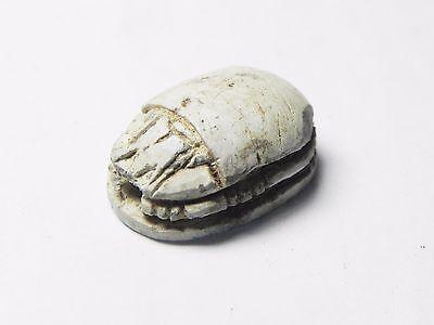 Zurqieh -Tat145-  Ancient Egypt, New Kingdom. Stone Scarab 1400 B.c 4