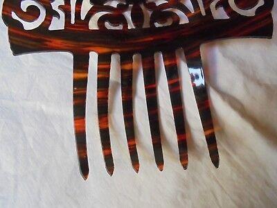 fantastischer Steckkamm 26 cm lang x 20 cm breit- Peinetón español