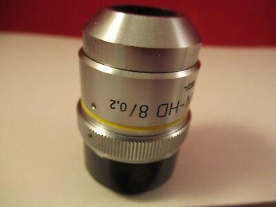 Zeiss Pol Objectif Epiplan HD 8x/160 Microscope Pièce comme sur Photo # 5