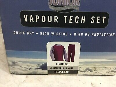Trekmates Vapour Tech Long Sleeves Top & Long Johns Junior Set 7-9 yr old unisex 5