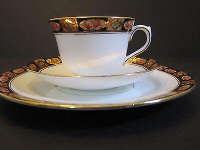Royal Albert Crown England Imari 3pc Set Tea Cup Saucer and Bread Butter Plate 2