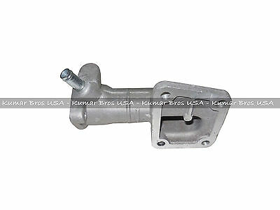 NEW KUBOTA V1702 Water Flange, Cover & Thermostat with Gaskets