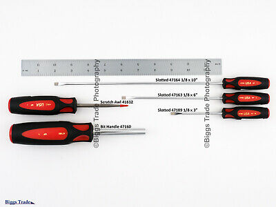 Craftsman (USA) Professional Screwdriver YOU CHOOSE Slotted, Phillips, Torx, Awl 8