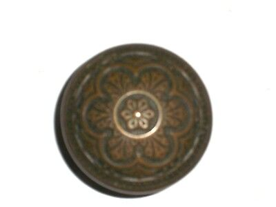 "Antique Eastlake Door Knob Double Sided Pattern 2 1/4"" knob"