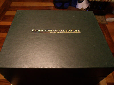 Banknotes of All Nations 53 Different Banknotes Information Cards /& Display Box
