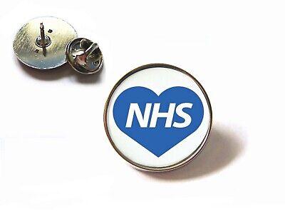 Nhs Uk Nurse Doctor Ambulance Medic Porter Paramedic Green Line Lapel Pin Badge 5