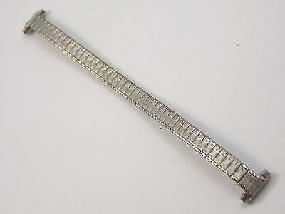 """Watch Band Vintage Speidel Strght Expansion Ladies Stainless 10mm-13mm 3/8""""-1/2"""" 2"""