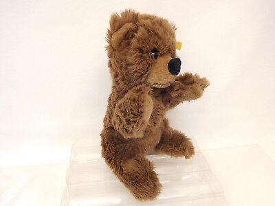 MES-58868Steiff Teddy-Bär,L. ca. 35 cm,weichgestopft,mit Knopf und Fahne 4