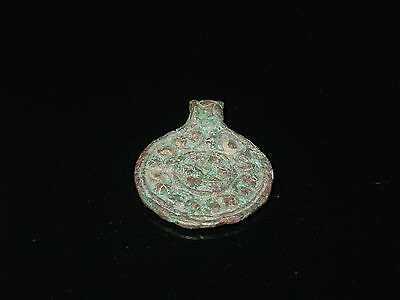 Rare Viking big neck pendant in the form of coins.  c 9-10 century AD 7