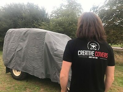 Land Rover Series 1-3 Heavy Duty Cover, Scratch Proof, Waterproof, 4 Layers 4