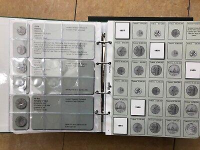 Masterphil Repubblica Italiana ALBUM MONETE DAL 1946 al 2001 art. 158 LIRA ECO 7