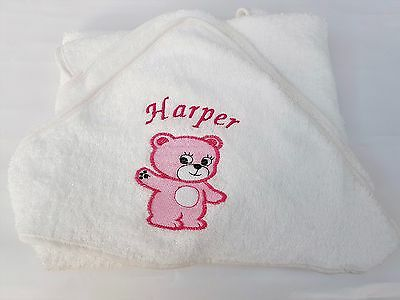 Mickey Mouse Personalised Hooded Baby Towel