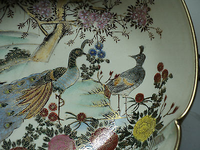 19th C. ANTIQUE JAPANESE SATSUMA POTTERY BOWL, MEIJI PERIOD (1868-1912) 3