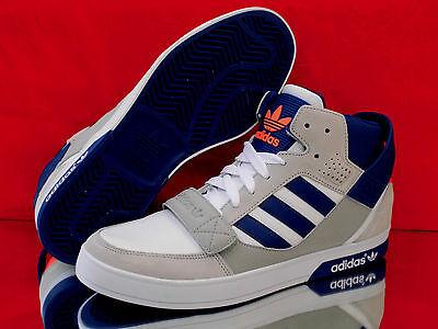 1 von 8Kostenloser Versand ADIDAS Originals Hardcourt Defender Higt-Top  Sneaker Weiß grau blau Q22070 Neu ! 77c03f213af7