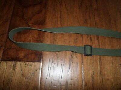 U.s Military Style Carbine Rifle Sling Od Green Black Metal Hardware 10