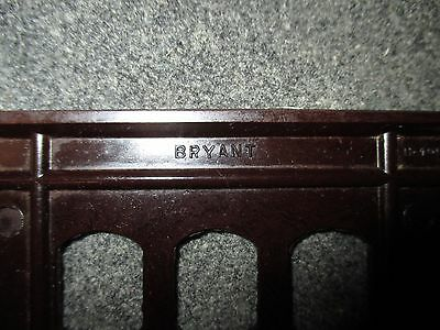 Vintage Bryant Despard System Bakelite Mcm Era Three Gang Switchplate Cover 4