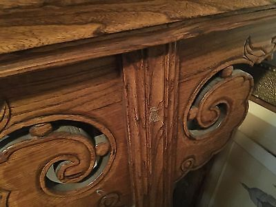 Magnificent Rare 1800's Wood Plank Chinese Altar Table 6