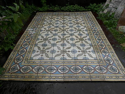 tiles victorian ceramic sand feignies perusson boch metlach boulenger 1900 8