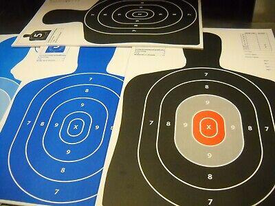 rifle paper shooting targets 12X18//11x17 120 Variety Pack Silhouette hand gun