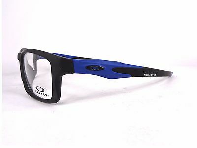 ... Oakley Crosslink MNP 8090 09 Black Cobalto 55 GLASSES OCCHIALI VISTA  GLASSES 366be1ab96