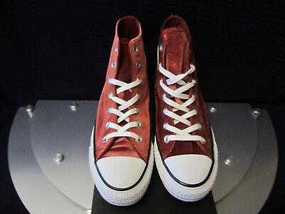 CONVERSE CHUCKS ALL STAR HI VELVET 557932C Damen Sneakers Rot Gr.37,5, 40.  NEU!
