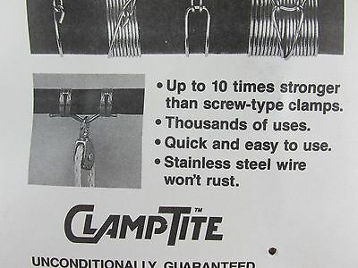 CLAMPTITE Tool CLT03 Stainless Steel/Aluminum Clamping Clamp Making Tool USA 6