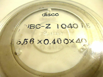 DISCO WAFER DICING Blade  400 NBC-Z 1040LE, New/Other